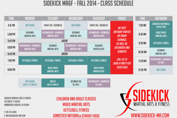 Download Fall 2014 Class Schedule